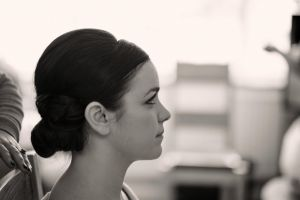 Beautiful Classic Bridal hair