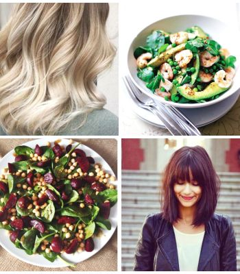 Healthy foods for healthy hair
