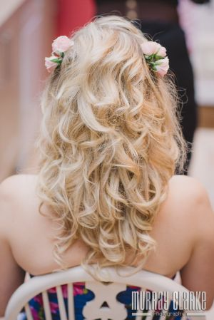 Rachels Wedding - Beautiful Bridal soft curls